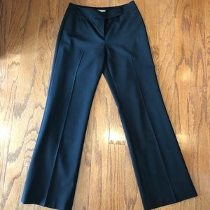 Ann Taylor black dress pants lined size 2 petite
